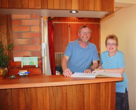 Owners: Hans and Gerda Visser